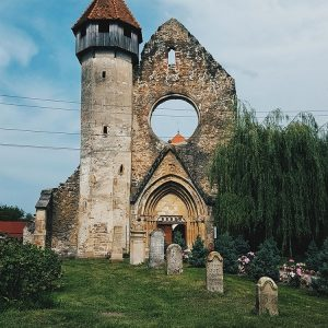 Carta---Cistercian-Abbey-near-Sibiu,-Romania