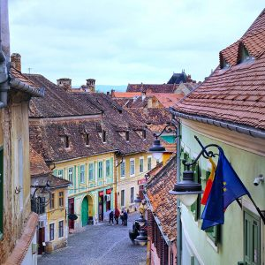 Lower-Town-Sibiu-and-the-Tower-Street