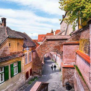 Sibiu-Passage-of-Stairs---Pasajul-Scarilor