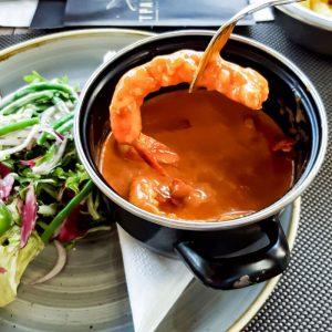 The-best-Shrimps-at-Tparadijs,-Gent