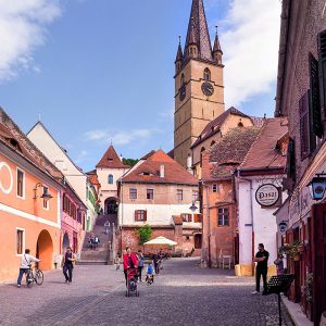 Tower-Street-Passage-and-the-Lower-Town-of-Sibiu