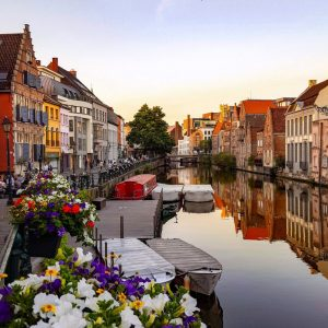 Ghent-canals-and-beautiful-architecture