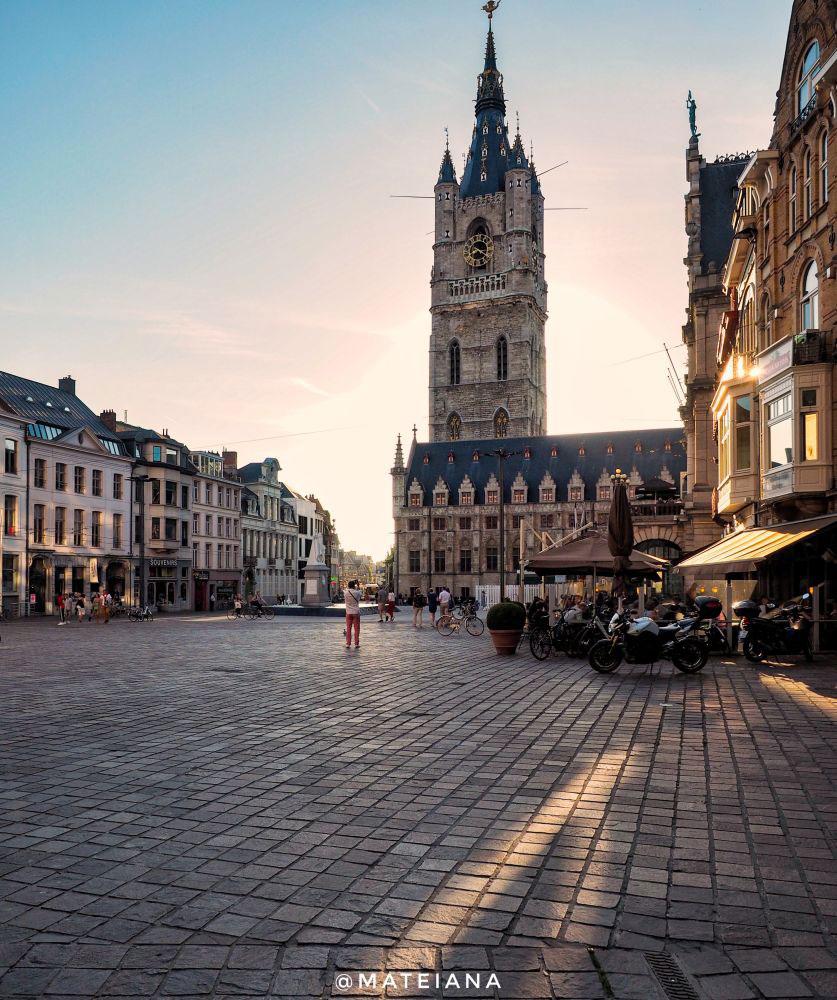Sint-Baafsplein---Ghent,-Belgium
