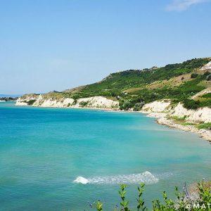 Thracian-Cliffs-Landscape,-Bulgarian-seaside