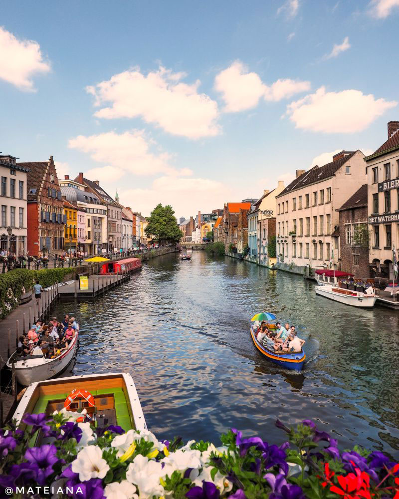 Tourist Attractions In Ghent Belgium A welcome most sincere