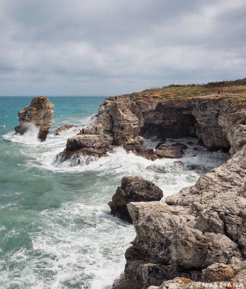 Road Trip In Bulgaria Black Sea Coast Beaches Rocky Shores Lavender