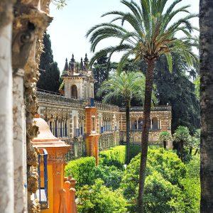 Alcazar-Seville---Gardens