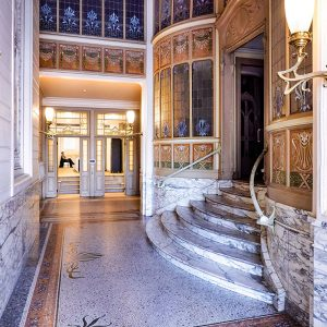 Art-Nouveau-Brussels-Entrance-at-the-Royal-Museum-of-Fine-Arts