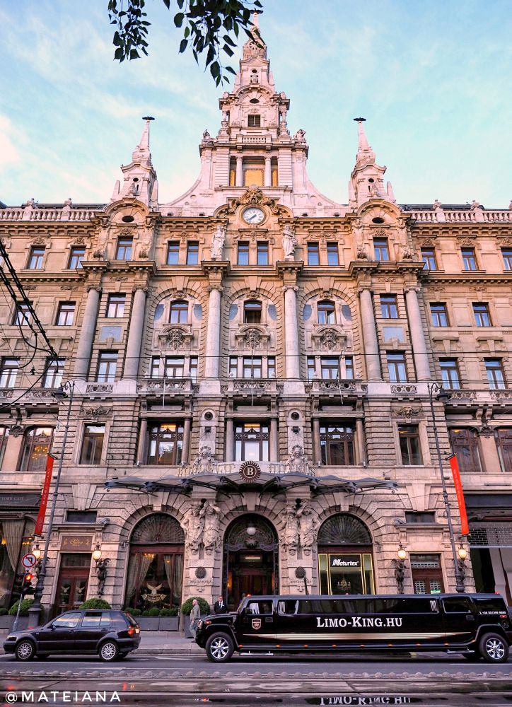 Boscolo Hotel in Budapest, Hungary