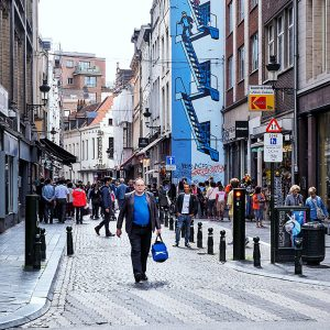 Comic-Strips-Brussels---Tintin-by-Herge