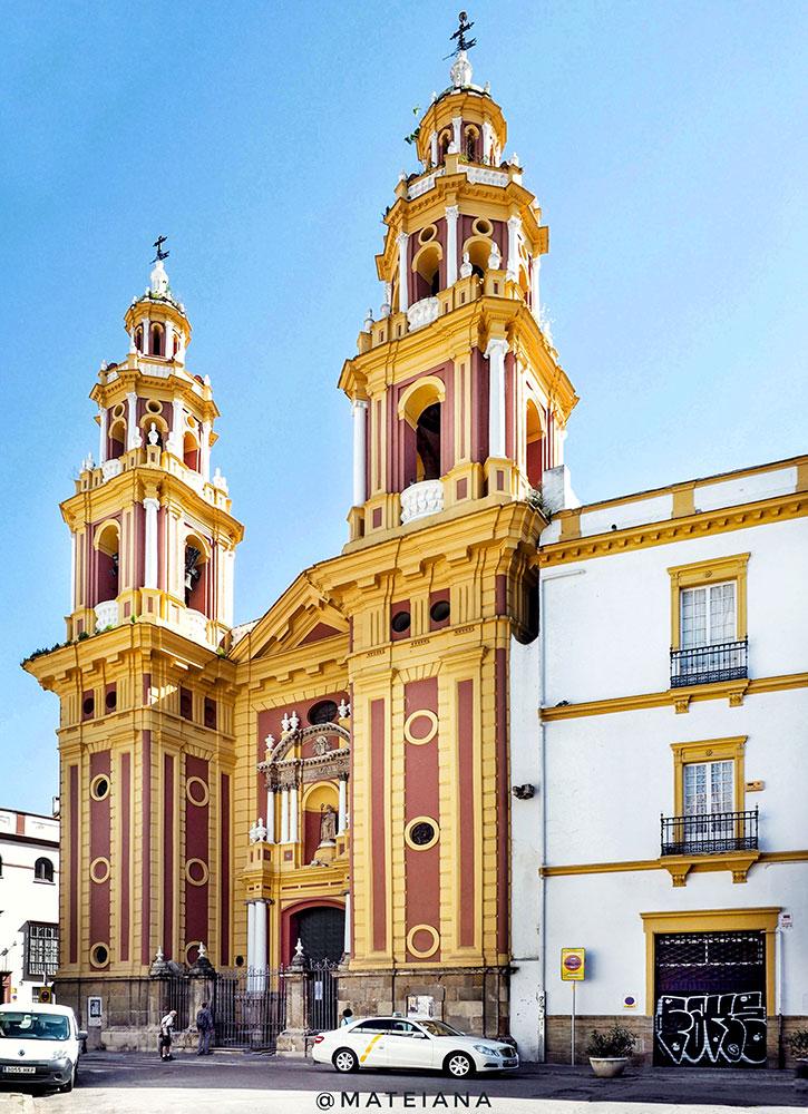 Iglesia-de-San-ldefonso,-Sevilla