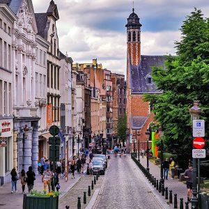 Mont des Arts Brussels - street photo