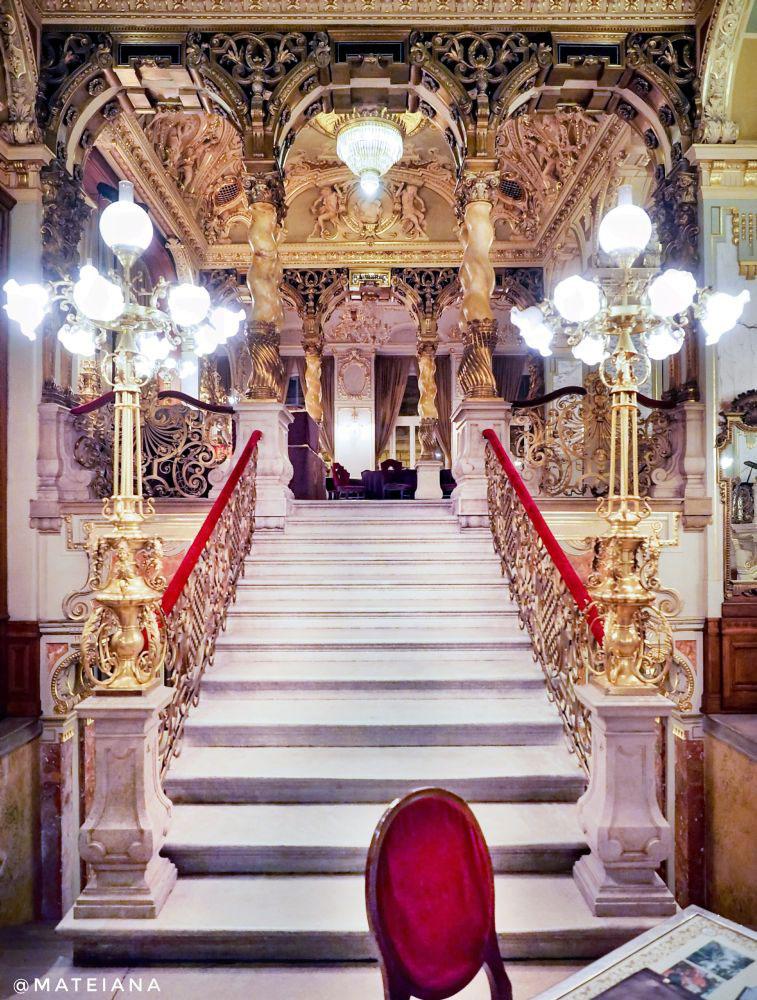 New York Cafe Budapest - interior design