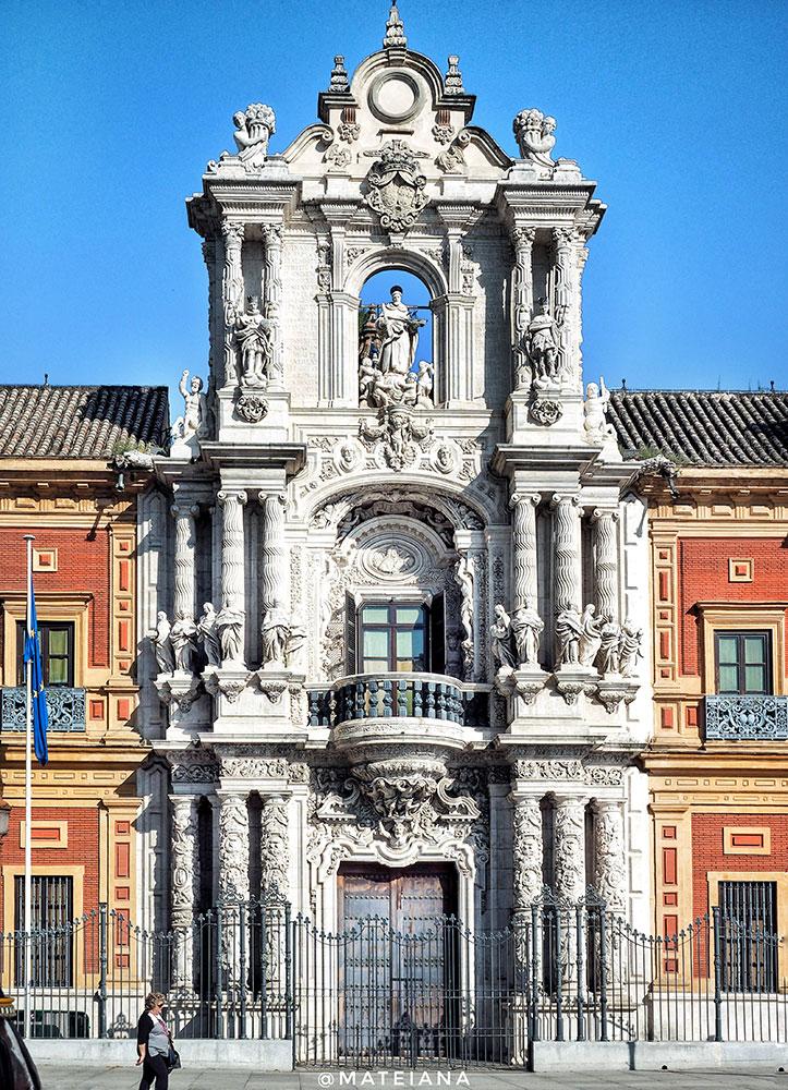 Palacio-de-San-Telmo,-Seville,-Spain