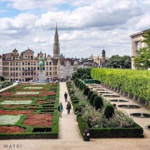 Postcard-from-Brussels---Mont-des-Arts