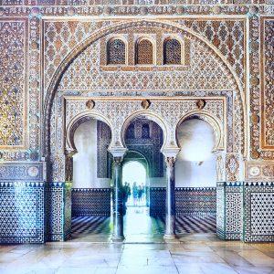 Real-Alcazar-Seville---architecture-details
