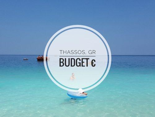 Thassos Travel Budget