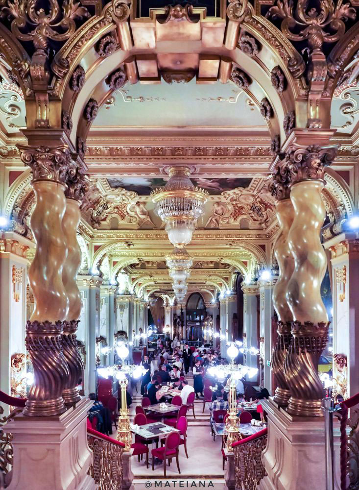The Most Beautiful Cafe in the world - New York Cafe Budapest, Hungary