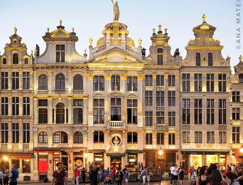 Brussels City Guide by Ana Matei