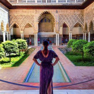 Main-patio-at-Real-Alcazar-of-Seville---Ana-Matei
