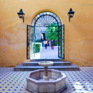 Patio-at-Real-Alcazar-of-Seville---1