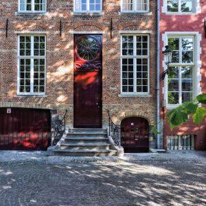 Brugge Facade - Bokeh