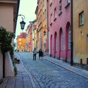 Brzozowa-Street-Warsaw-at-dusk