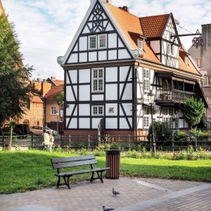Gdansk-architecture-near-the-Great-Mill