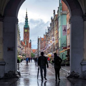 Golden Gate and Main Town Hall Gdansk
