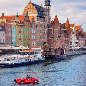 Gdansk Postcard - Old Port