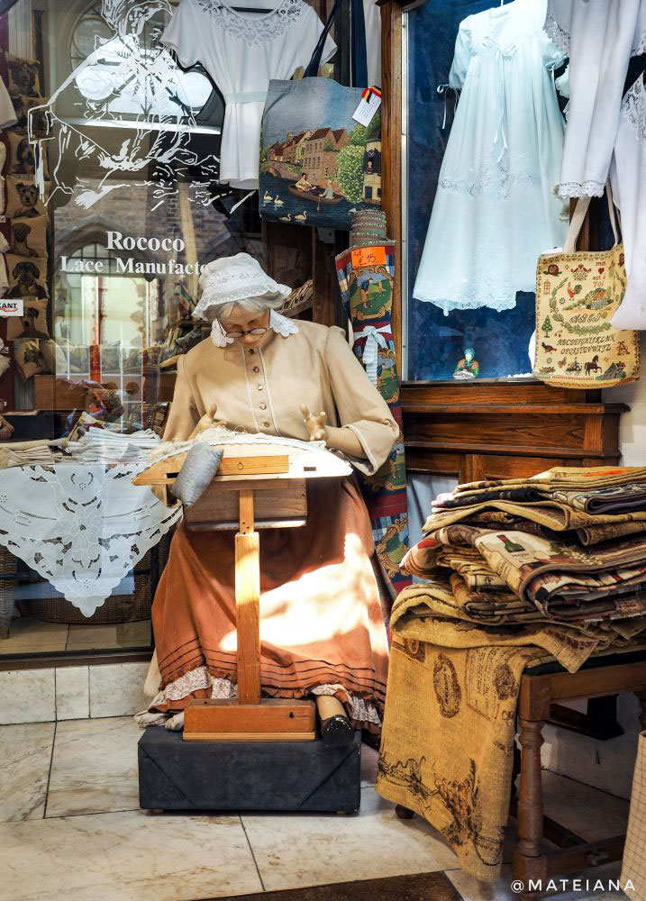 Lace Store in Brugge