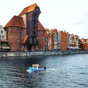The-Crane---Zurav---Gdansk-Old-Port