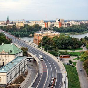 Warsaw-from-above---street-view