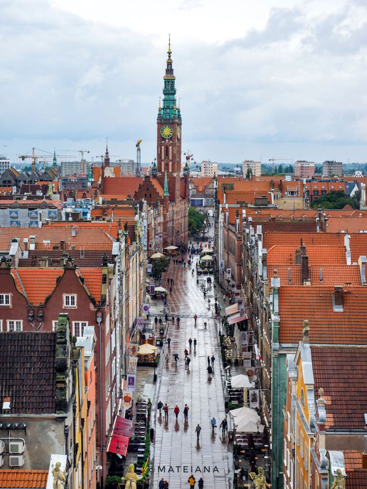view-Gdansk-from-above---Long-Lane