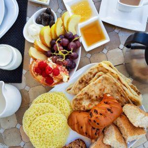 Beghrir-and-Rghaif---Moroccan-Pancakes-at-Riad-Dar-Soufa-Rabat