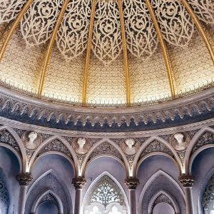 Monseratte-Palace-Sintra---ceiling-and-archi-details