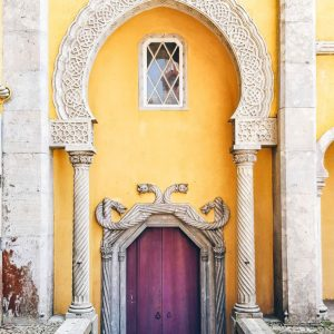 Moorish-Door-at-Pena-Palace