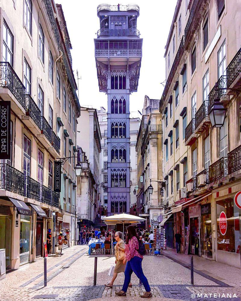 Santa-Justa-Lift---instagram-spot-in-Lisbon