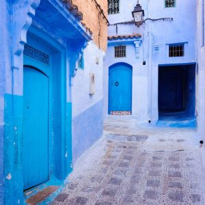 Streets-of-Chefchaouen---Blue-Doors