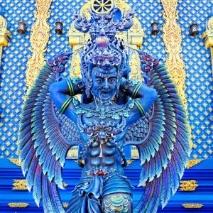 Warrior-Angel-at-Blue-Temple-Chiang-Rai