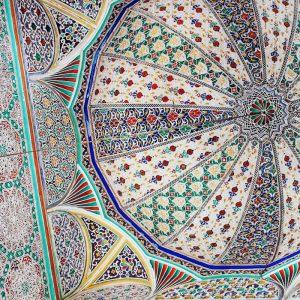 Al-Quaraouiyine-University-Fez---ceiling-details