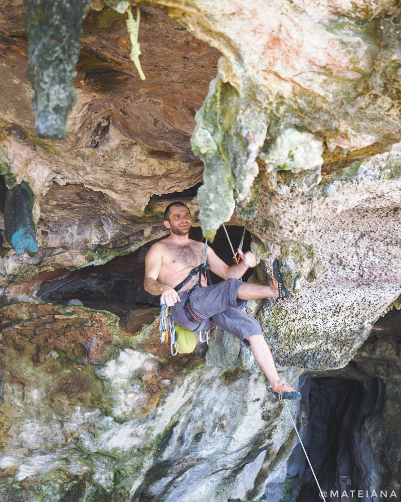Happy-climber-on-Phra-Nang-Cave