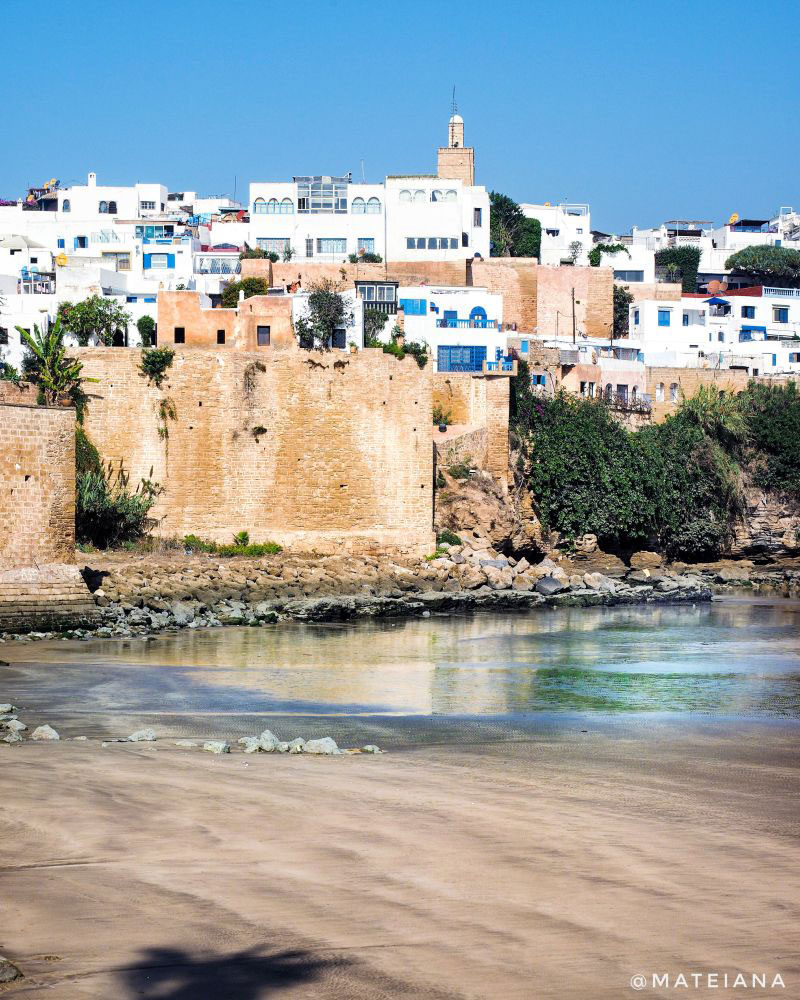 Kasbah-des-Oudaias-in-Rabat---view-from-the-waterfront
