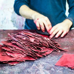 Leather-workshop-in-Fez-Medina
