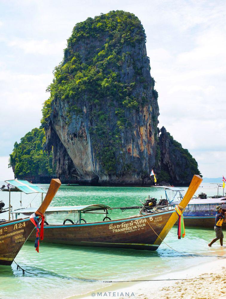 Phra-Nang-Beach,-Krabi,-Thailand