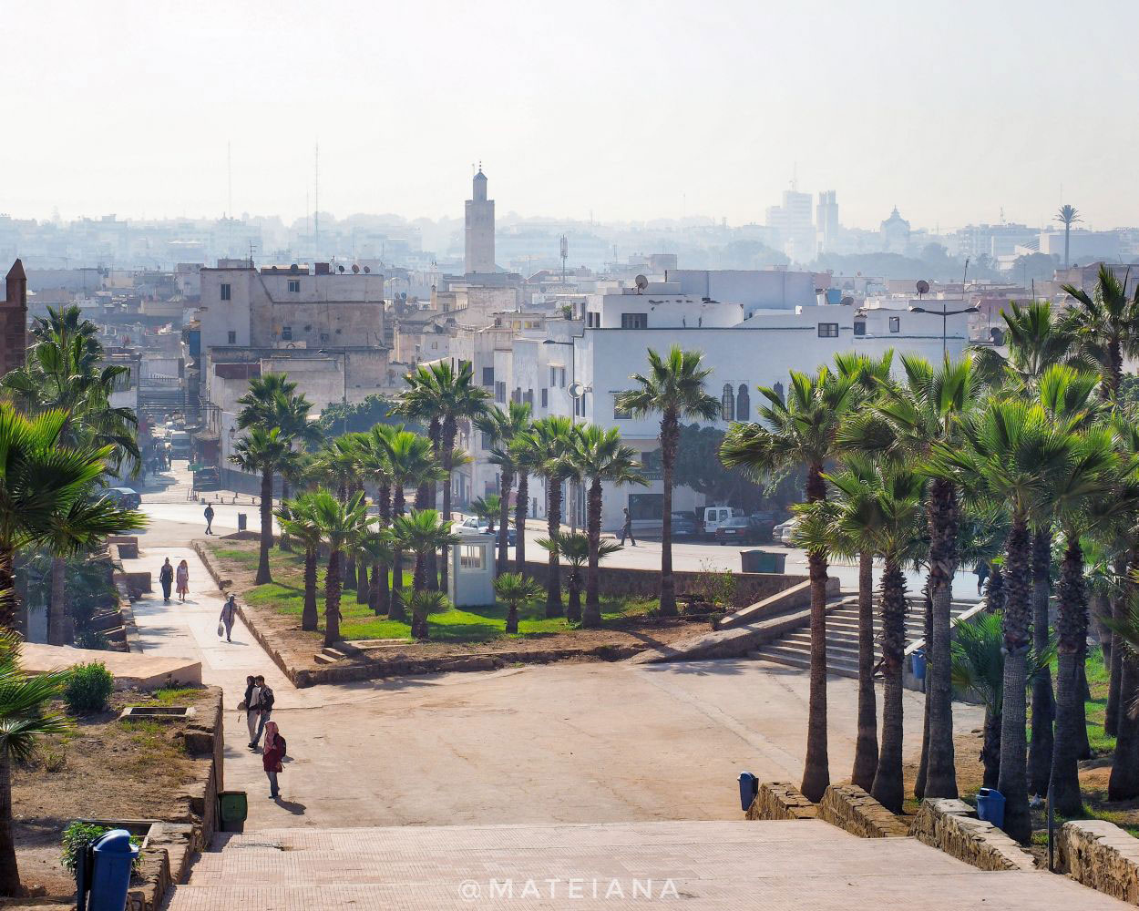 Postcard-from-Rabat,-Morocco