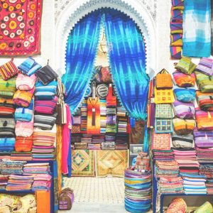 Textiles-workshop-in-Fez-Medina