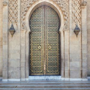 beautiful-door-at-Mausoleum-of-Mohammed-V