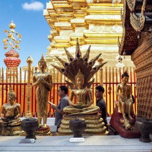 Golden-Buddha-statue-at-Wat-Phra-That-Doi-Suthep