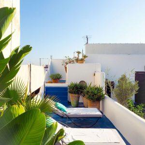 Riad-Dar-Soufa-in-Rabat,-Morocco---terrace